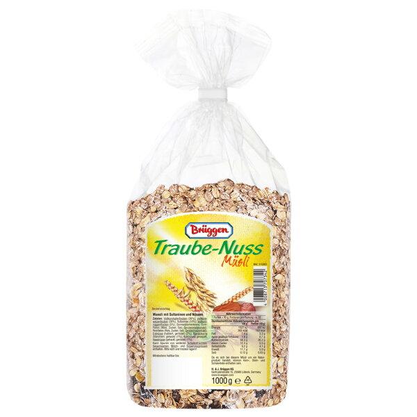 [素]Bruggen德國綜合堅果穀物(含葡萄乾)(1000g)
