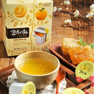 韓國進口 膠囊式蜂蜜柚子茶 茶球禮盒 (30gX15顆)【特價】§異國精品§
