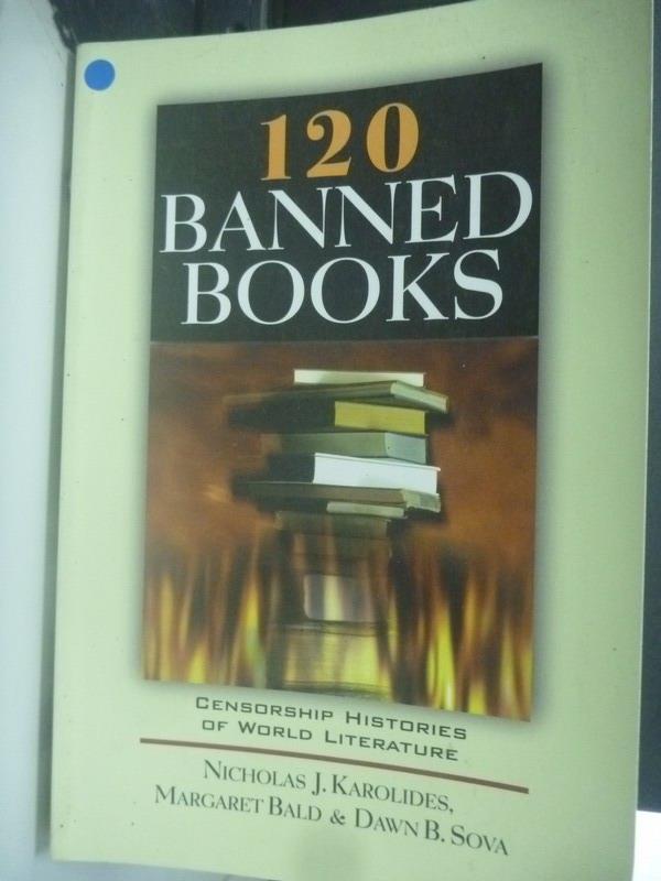 ~書寶 書T4/文學_ZIF~120 Banned Books: Censorship H