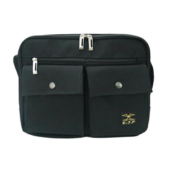 加賀皮件 LEAD   MIT精工 雙口袋 斜背包 側背包 8807
