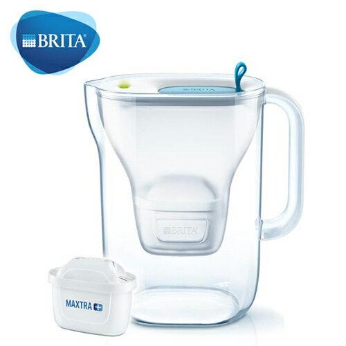 【德國BRITA】Style3.6L純淨濾水壺藍色【三井3C】