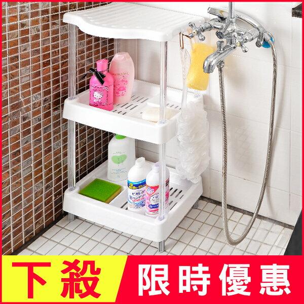 下殺優惠 原價499│日本MAKINOU三層浴室架│台灣製 廚衛收納置物 塑膠不鏽鋼 牧野丁丁