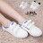 ★399免運★格子舖*【KAF7582】校園流行基本款 簡約撞色條紋 魔鬼氈穿拖 帆布鞋/布面鞋 2色 0
