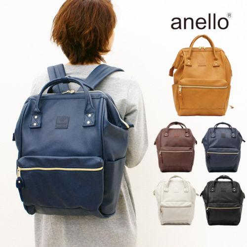 【醉愛·日本】Anello 合成皮後背包 小款 日本TOP5款 (可附日本出口運送證明)