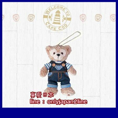 【真愛日本】16062700017 站姿別針吊飾-丹寧褲達菲  Duffy 達菲熊 日本迪士尼樂園帶回 附迪士尼提袋