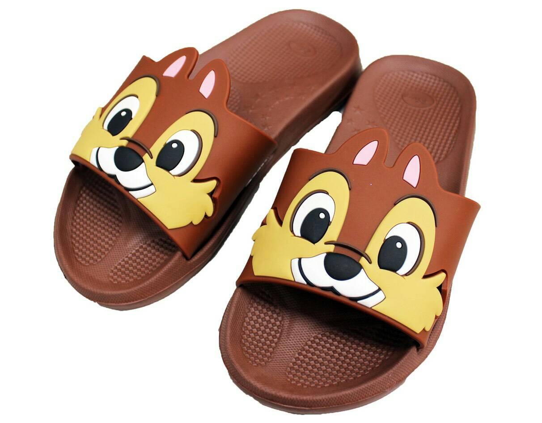 經典迪士尼卡通奇奇造型室內拖鞋