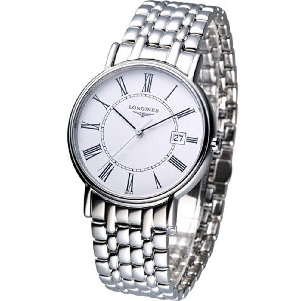 LONGINES 浪琴錶  Presence 經典紳士時尚腕錶 L47904116