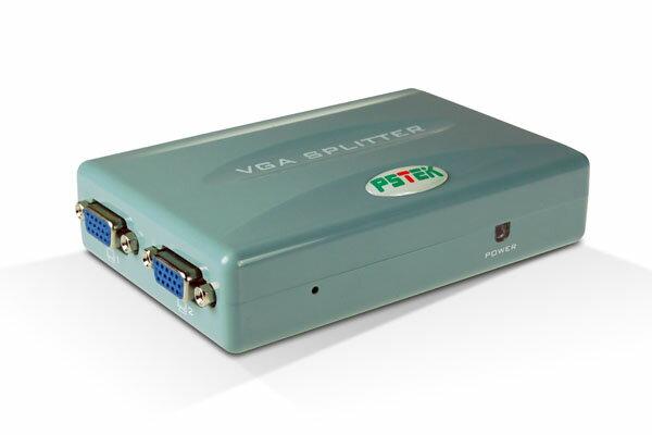 AviewS-4 PORT螢幕分配器/Mini USB供電/PSTEK VPS-104E