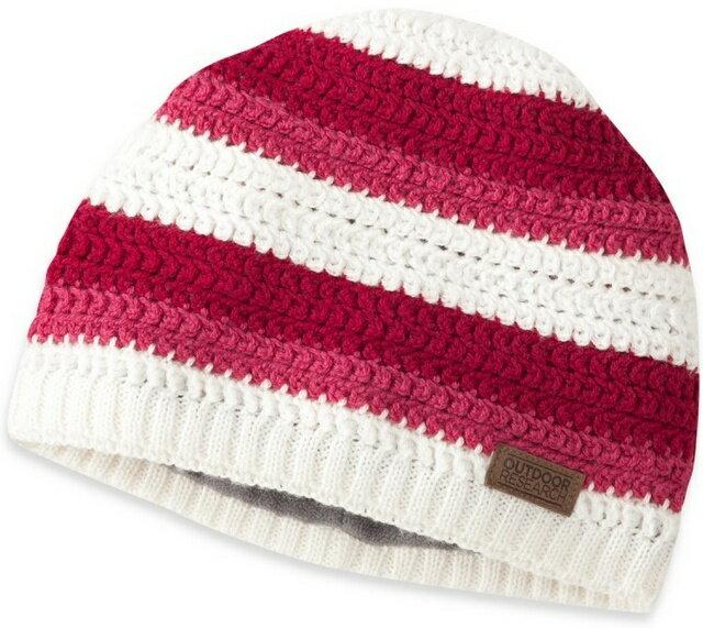 Outdoor Research Sueno 美麗諾羊毛針織保暖帽/毛帽/毛線帽 243674 1101 紅白
