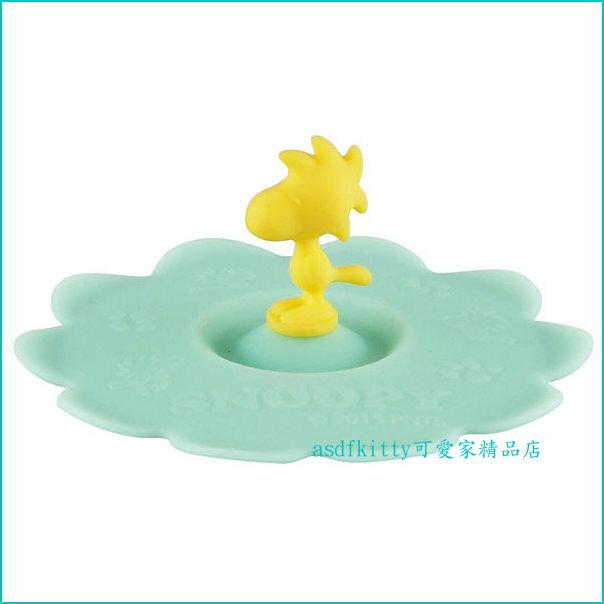 asdfkitty可愛家☆史努比的 糊塗塔克 矽膠杯蓋/碗蓋-保溫防塵保冰-日本正版商品