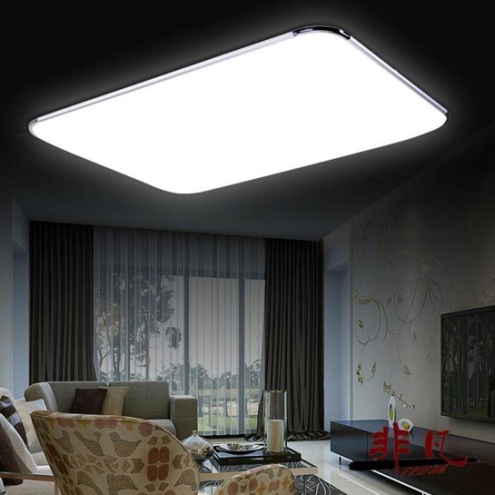 吸頂燈 超薄LED吸頂燈客廳燈具長方形臥室書房餐廳陽臺現代簡約辦公室燈