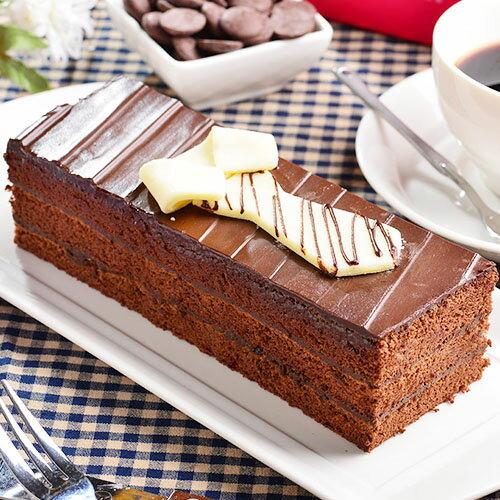 父親節蛋糕只要 288~艾波索.領帶巧克力黑金磚~秒殺!比利時72%生巧克力, 口感濃郁層