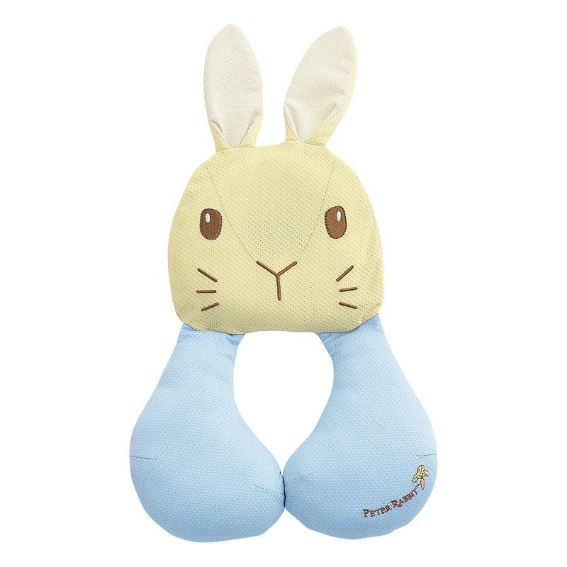 奇哥 Peter Rabbit 比得兔 透氣推車汽座護頸枕-藍色★愛兒麗婦幼用品★