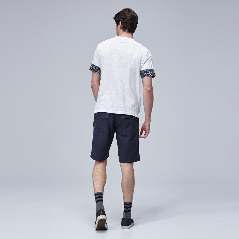 ❤短褲$990❤Lee  休閒短褲 902 多口袋文字印刷 男 深藍 3