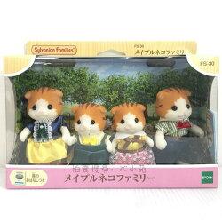 【Fun心玩】EP14430 麗嬰 日本 EPOCH 森林家族 楓糖貓家庭 扮家家酒 人偶 兒童 玩具 聖誕 生日 禮物