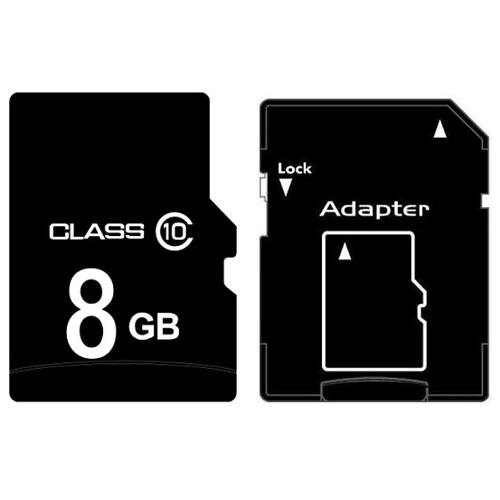 OEM 8GB 8G microSD microSDHC Class 10 micro SD SDHC C10 TF Flash Memory Card + SD Adapter 0