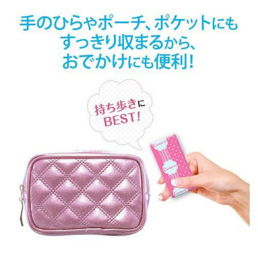 SOFY蘇菲日本製CENTER-IN口袋魔法衛生棉 日本原裝進口 輕柔觸感 呵護親密肌 迅速吸收 6