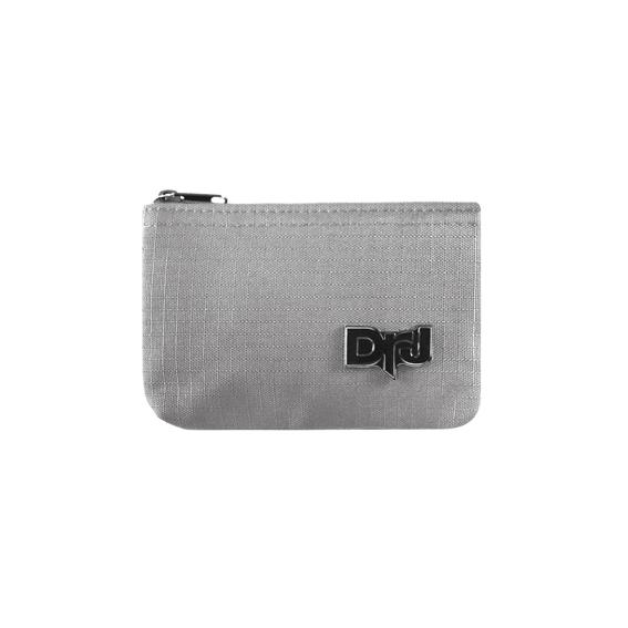 DrJ 帆布零錢包 灰色