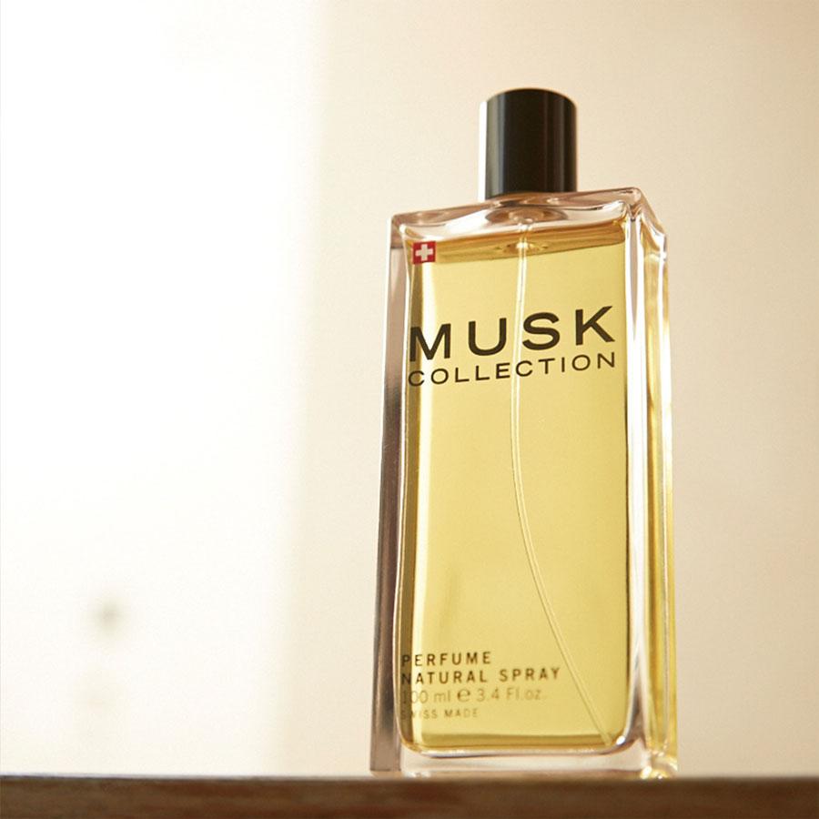 贈唇蜜*1條【Musk Collection】經典黑麝香淡香精 100ml (知性柑橘調)