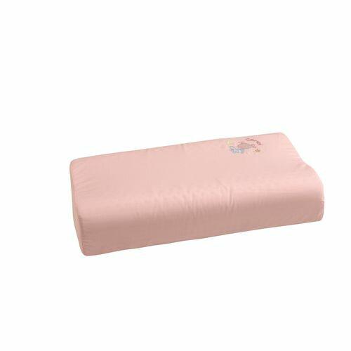 ★衛立兒生活館★康貝 Combi 小魚銀纖乳膠兒童枕+枕套(粉紅)