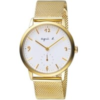 agnès b.眼鏡推薦到agnes b.法式簡約小秒針時尚米蘭腕錶 VD78-KLB0I BN4008X1就在寶時鐘錶推薦agnès b.眼鏡