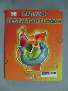 【書寶二手書T1/設計_ZBZ】BarsandRestaurantsLogos_DavidE.Carter