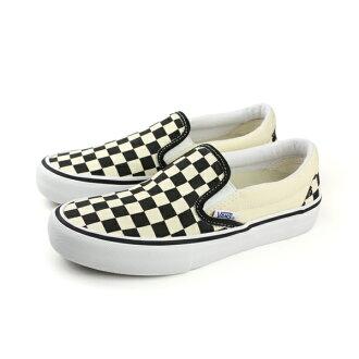 VANS SLIP-ON PRO 懶人鞋 帆布鞋 黑白 棋盤格 男鞋 C020801 no315