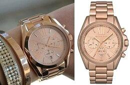 預購 美國正品 Kors 羅馬玫瑰金色三眼手錶