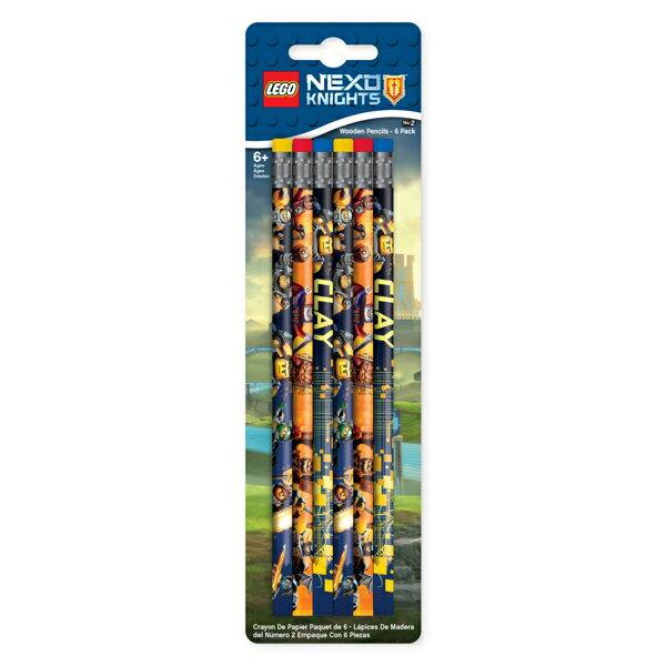 【 樂高積木 LEGO 】未來騎士團系列鉛筆(6入)