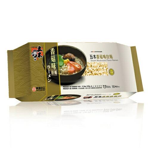 五木 香菇味拉麵 321g【康鄰超市】
