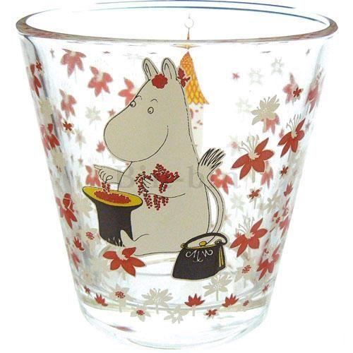 嚕嚕米 姆明玻璃杯/058-143