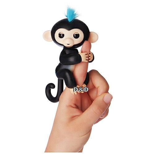 免運費限時71折【Fingerlings】互動寵物猴-手指猴-黑