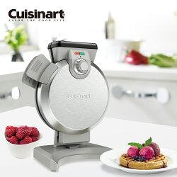 【美國Cuisinart 美膳雅】直立式鬆餅機 WAF-V100TW