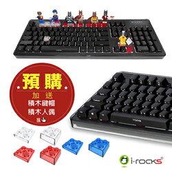 i-Rocks K76MN PLUS 靜音機械式鍵盤 紅軸 茶軸 IRK76MN 全區防鬼 八組自定義 可程式【迪特軍】