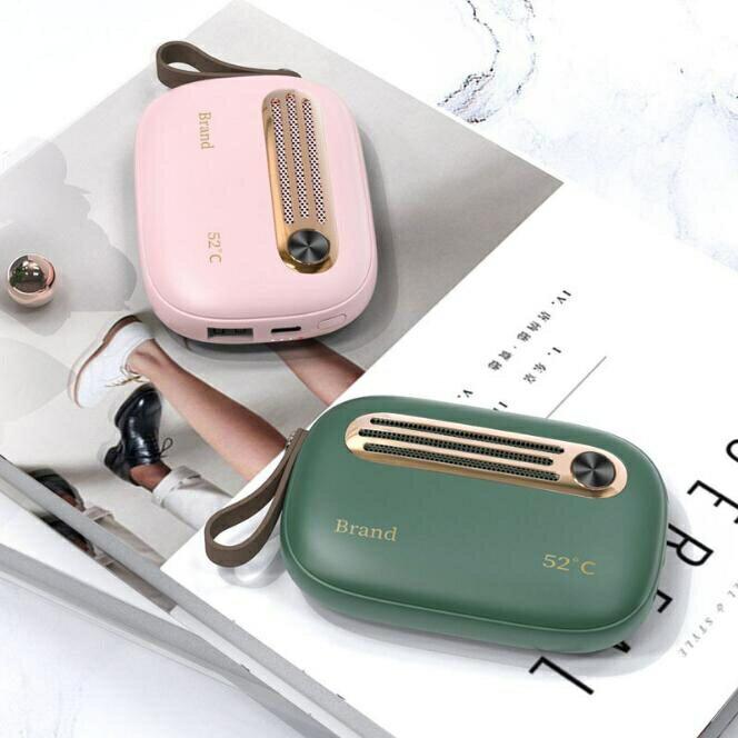 現貨 暖手寶 新款復古多功能暖手寶充電加熱可愛迷你寶冬季禮物 交換禮物