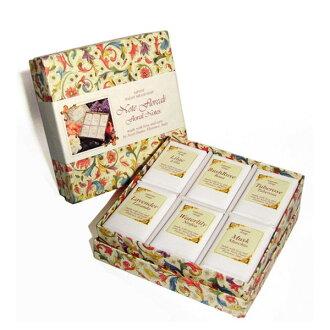 Nesti Dante 義大利手工皂 經典城市之花禮盒 100g×6《Belle倍莉小舖》