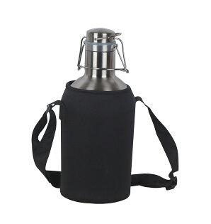 304不銹鋼啤酒壺專用隔熱便攜袋戶外水壺袋野樂CampingAce