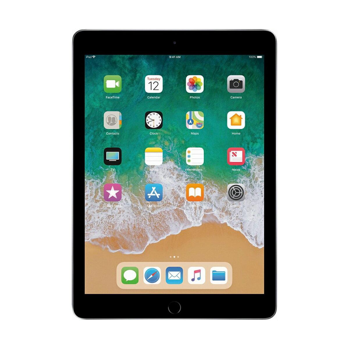 "Apple iPad 9.7"" Retina Display 32GB Wi-Fi Multi-Touch Tablet 5th Gen MP2F2LLA - Space Gray 1"