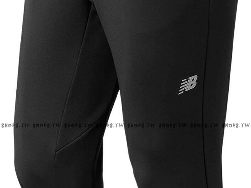 Shoestw【AMP73011BK】NEW BALANCE NB服飾 Tech Fleece 長褲 運動褲 縮口褲 NB DRY 保暖 內刷毛 黑色 男生 2