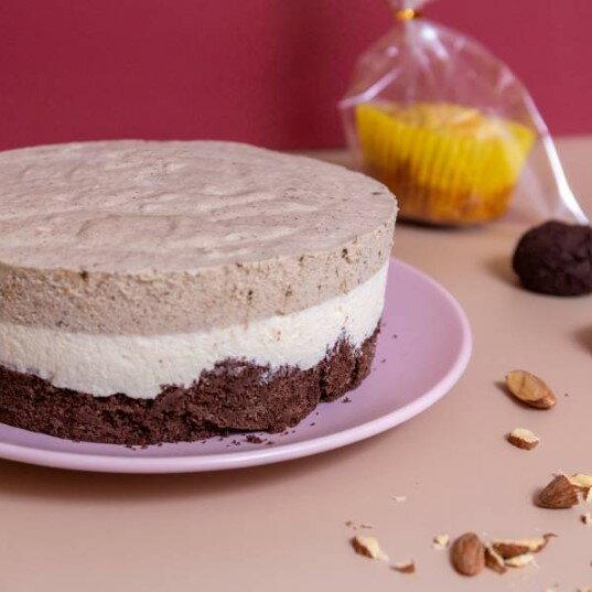 【甜野新星-甜點專賣店】 父親節蛋糕 生日蛋糕〈生酮〉紅玉歐蕾 - 紅玉紅茶、香草 母親節蛋糕