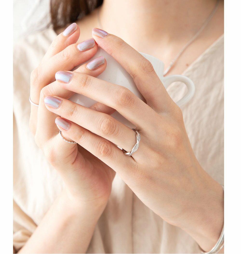 日本Cream Dot  /  925優雅交錯戒指  /  p00003  /  日本必買 日本樂天代購  /  件件含運 8