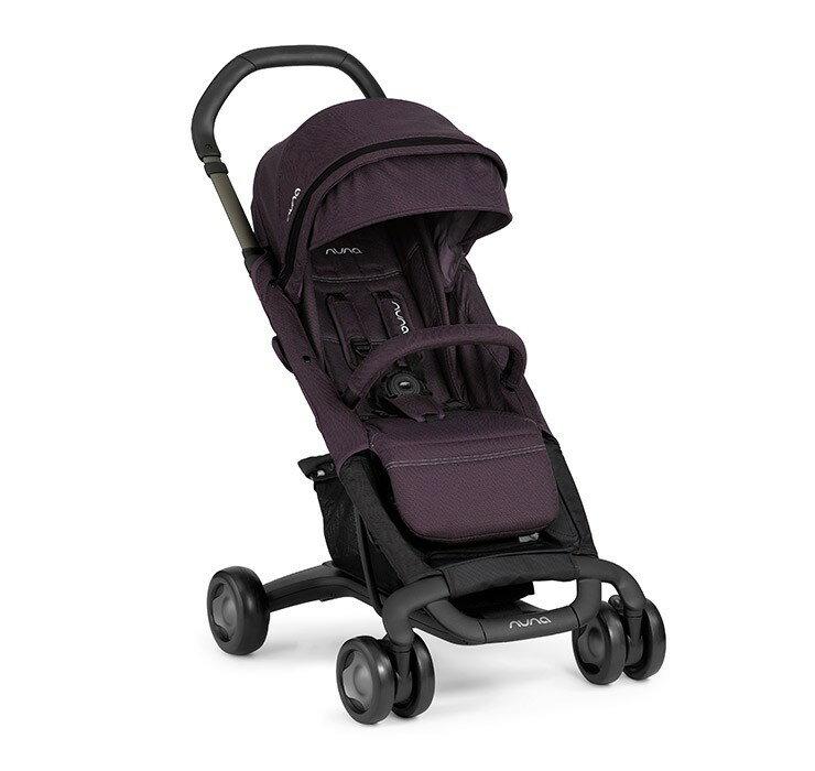 【Nuna】Pepp Luxx 時尚手推車(紫色) ※加贈Nuna時尚手提袋+可愛玩偶x1 【飛炫寶寶】