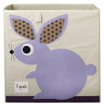 加拿大 3 Sprouts 收納箱-兔子★愛兒麗婦幼用品★