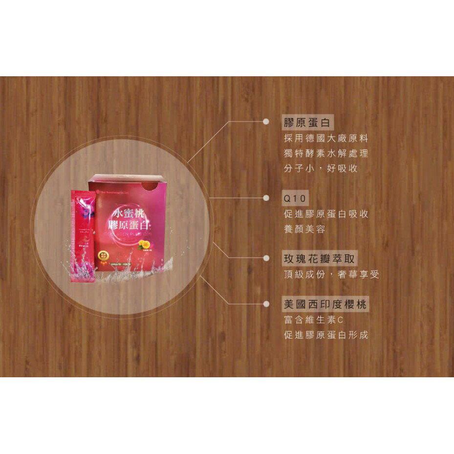 三井生技 水蜜桃膠原蛋白 Q10 玫瑰 櫻桃 3公克 30包 | PQ Shop