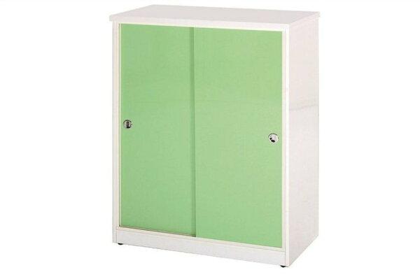 【石川家居】870-01(綠白色)拉門鞋櫃(CT-312)#訂製預購款式#環保塑鋼P無毒防霉易清潔