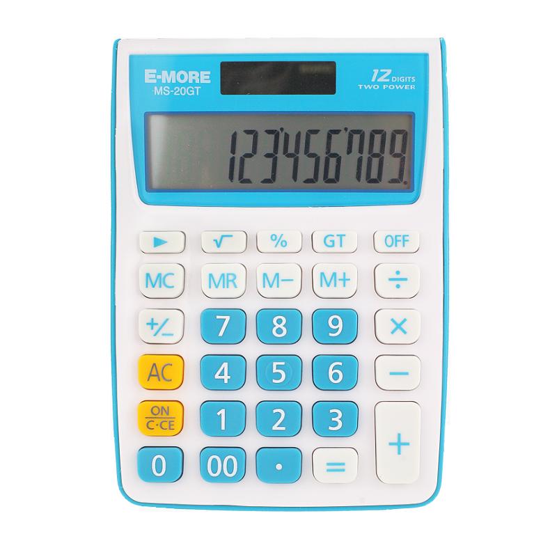E-MORE MS-20GT 紛彩桌上型12位計算機