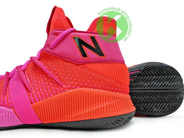 2019 最新 NBA 總冠軍 Kawhi Leonard 強力代言 NEW BALANCE OMN1S 紅 桃紅 全腳掌的 FUELCELL 緩震科技 MVP 籃球鞋 紐巴倫 小可愛 (BBOMNXEP) 1219NBA 3