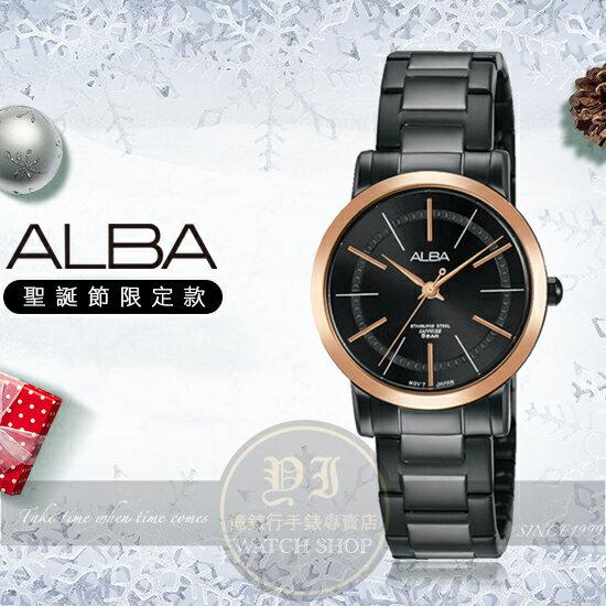 ALBA雅柏超人氣對錶系列聖誕節限定腕錶VJ21-X119KAH8449X1公司貨