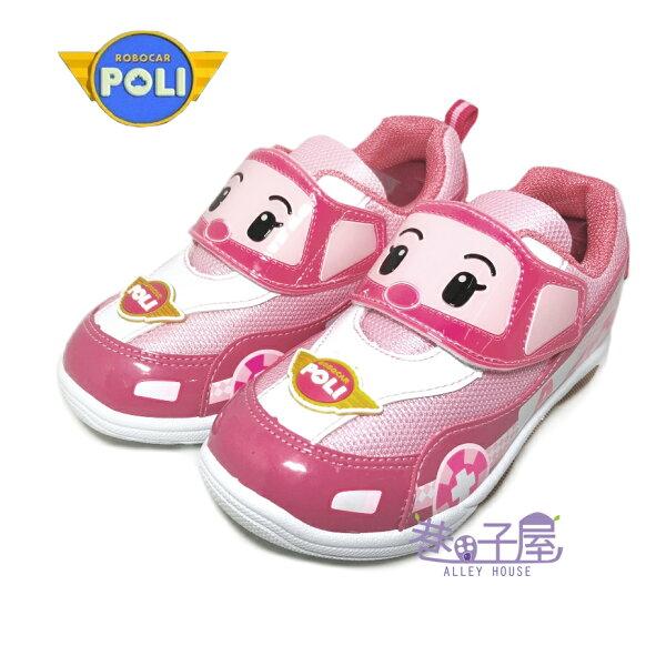 【巷子屋】救援小隊-童款安寶電燈運動休閒鞋[61213]粉MIT台灣製造超值價$198