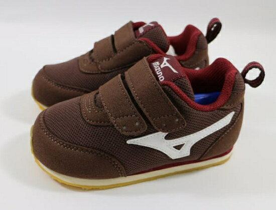 [陽光樂活] MIZUNO 美津濃 童鞋 幼兒鞋 TINY RUNNER III K1GD153258 棕